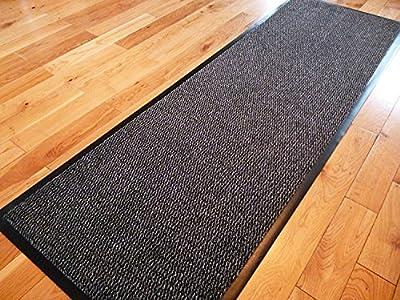 Carpet Runner 60cm x 160cm Dirt Stopper Grey/Black NOW ONLY £17.99