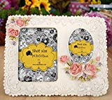 TiedRibbons Photo Frame for couple | Photo Frame gift for birthday | Photo Frame for friends | Photo Frame for bed room | Photo Frame for friends birthday | (6.5inchX7.5inch,Multicolor,Resin)