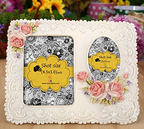 Tied Ribbons Photo frames for table (6.5inch X 7.5 inch,Multicolor, Resin)