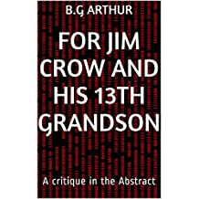 For Jim Crow and his 13th grandson: A critique in the Abstract (English Edition)