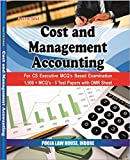 Cost and Management Accounting (For CS Executive MCQ's Based Examination) (1500 + MCQ's- 5 Test Papers with OMR Sheet)