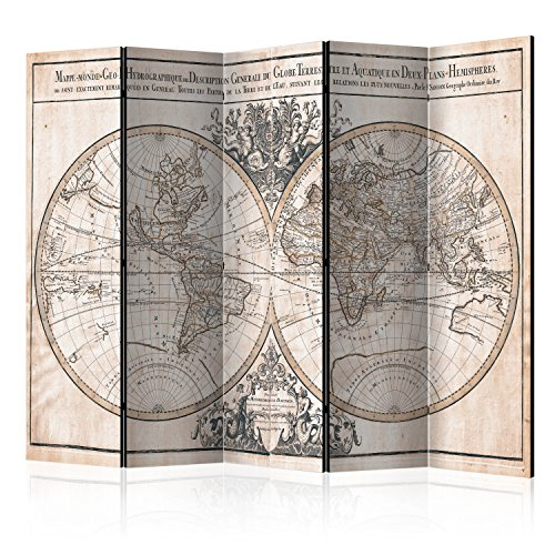 murando Paravent & Tableau daffichage en Liege: 225x172 cm Reversible Impression sur Papier intissé 100% Opaque Paravent decoratif pour Chambre Paravent en Bois avec Impression k-B-0033-z-c