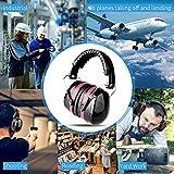 Gehörschutz für Kinder und Erwachsene, ECHTPower Kapselgehörschützer, 34dB Höchste NRR Kopfbügel Sicherheit ohrenschützer Safety EAR Muffs mit Weichschaum für Erwachsene und Kinder, Geeignet für Schiessen,SNR 35dB