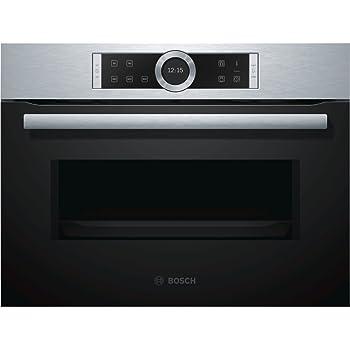 Bosch BEL634GS1 forno a microonde Incasso 21 L 900 W Nero, Argento ...