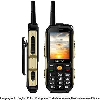 Biback Antiguo teléfono móvil DE 2,4 Pulgadas con Tarjeta SIM de Cuatro Bandas de