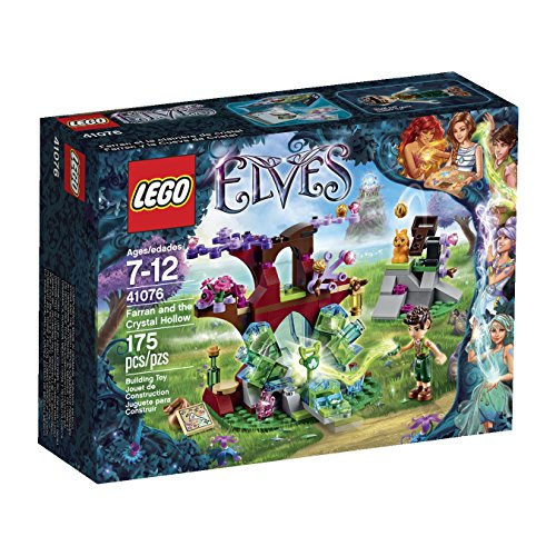 LEGO Elves Farran and the Crystal Hollow 41076 by