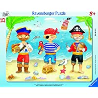 "Ravensburger 0611222,9cm Piraten Entdeckungsreise ""Puzzle"