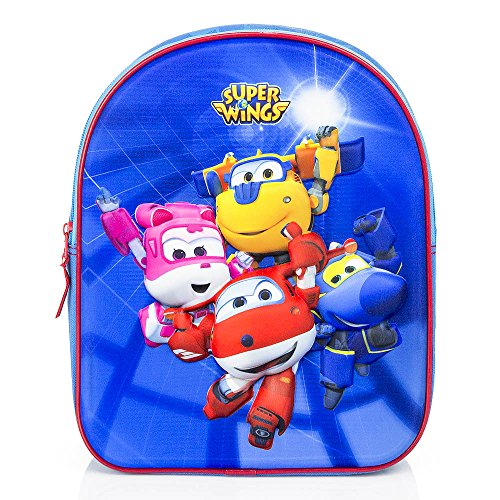 Jack Die Cartoon Piraten Nimmerland Und (Super Wings 3D Kinder Rucksack)