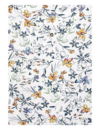 Cecil Damen Bluse Mehrfarbig (Pure Off White 30125)