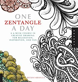 One Zentangle A Day (One A Day) by [Krahula, Beckah]