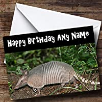 Armadillo Personalised Birthday Card