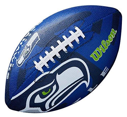 WILSON Unisex-Youth NFL JR Team Logo FB SE American Football, JUNIOR -