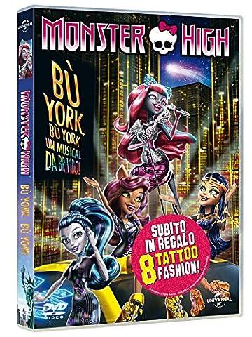 Monster High - Boo York (Dvd+Tattoo) [Import anglais]