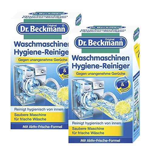 2x Dr. Beckmann Waschmaschinen Hygiene Reiniger 250g - Saubere Maschine für frische Wäsche