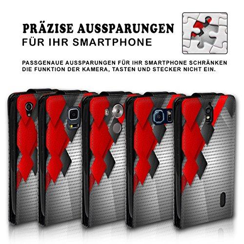 Vertical Flip Style Housse Case Étui Coque Motif cartes étui support pour Apple iPhone 4/4S–Variante ver37 Design 9