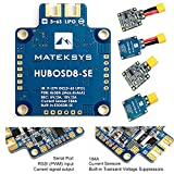 ZCGC-UK HUBOSD-SE PDB OSD Power Distribution Board DUAL BEC 3S - 6S Supported 180A CURRENT SENSOR for FPV RC Drone ( Supplied By Matek )