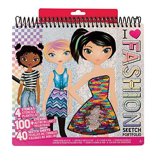Fashion Angels Fashion Design Set m Schablonen ()