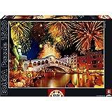 Educa  15531 1500 - Fuochi D'Artificio Sul Ponte Di Rialto
