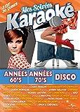 Coffret 3 DVD Karaoke : Années 60's, 70's, Disco [Import italien]