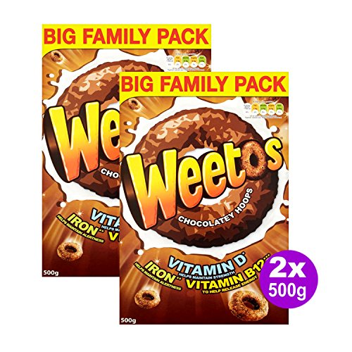 Weetabix Weetos Chocolate 2x 500g (1000g)