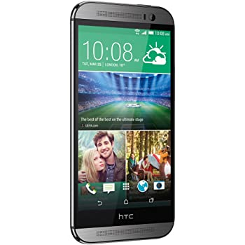"""HTC ONE M8 5"""" 16GB 4G LTE ANDROID 4.4 EUROPA GRAY"""