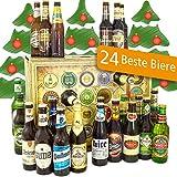 Bier Adventskalender Welt und Deutschland mit Tsingtao + Tiger + Hite Pale Lager + mehr ... Ein tolles Geschenk für Männer. Bierset + Geschenk, Biersorten aus aller WELT & DEUTSCHLAND. Bieradventskalender 2018 - mit 24 Biersorten in FLASCHEN Adventskalender Bier Welt 2018 - Adventskalender für Männer, Adventskalender für Erwachsene, Bierkalender Adventskalender Alkohol, Weihnachtskalender mit Bier, Bier Adventskalender Weihnachtsgeschenke Bier Männer