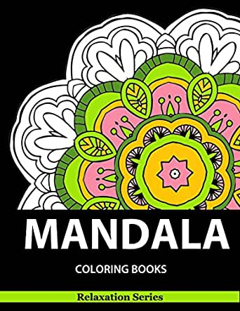 Mandala Coloring Book Relaxation Series Coloring Books