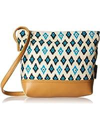 Kanvas Katha Women's Handbag (Multi-Colour) (KKSAMZMAY007)