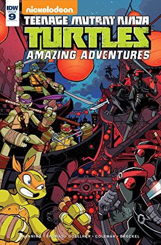 Teenage Mutant Ninja Turtles: Amazing Adventures #9 (English ...