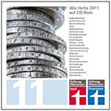 CD-ROM 2011 - test + Finanztest 2011