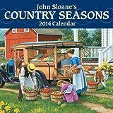 John Sloane's Country Seasons 2014 Mini Wall Calendar