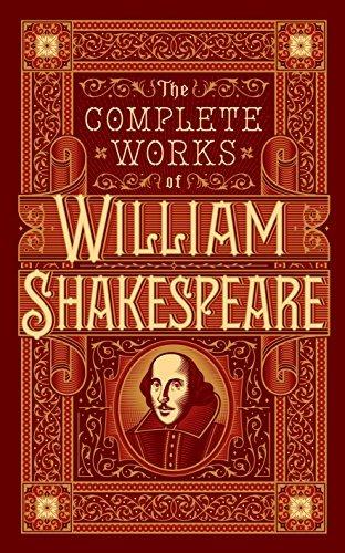 Complete Works of William Shakespeare (Barnes & Noble Omnibus Leatherbound Classics) (Barnes & Noble Leatherbound Classic Collection) by William Shakespeare(2015-10-01)