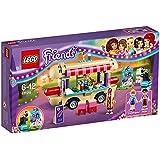 LEGO - 41129 - Friends - Jeu de construction - La Camionnette à Hot-dogs du Parc d'Attractions