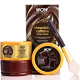 WOW Skin Science Chocolate Caffeine Face Mask for Recharging & Rejuvenating Dull Skin - No Parabens, Sulphate, Mineral Oil &
