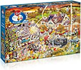 """Gibsons G7084 """"I Love Autumn"""" Jigsaw Puzzle (1000-Piece)"""