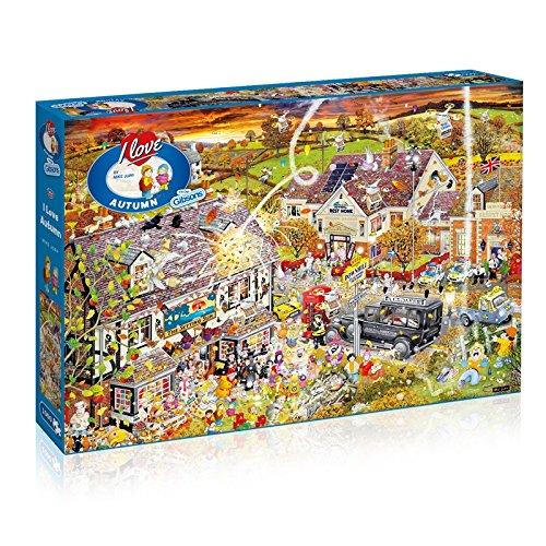 iebe den Herbst-Puzzle (1000Teile) ()