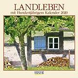 Landleben 2020: Broschürenkalender mit Ferienterminen. Format: 30 x 30 cm