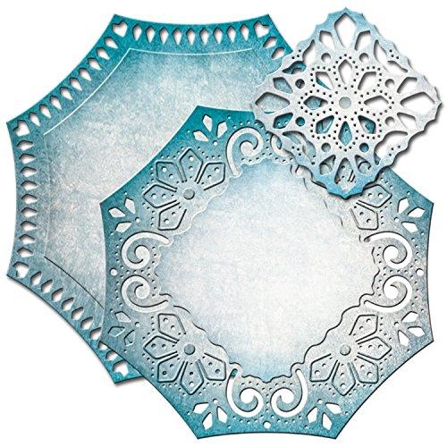 Spellbinders Nestabilities elementi decorativi Questa etichetta 46
