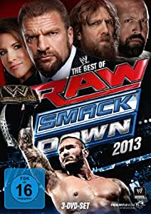 WWE - The Best of Raw & Smackdown 2013 [3 DVDs]