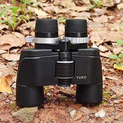 Wangyi Reiseteleskop Fernglas 8-21X50 Hd Doppelrohr Großer Durchmesser Wasserdichtes Teleskop für die Vogelbeobachtung Wandern Jagdreisen Wildlife Bak4 Prismen mit Umhängeband und Tragetasche