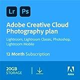 Adobe Creative Cloud Photography plan 20GB: Photoshop + Lightroom   1 Year   PC/Mac   Download