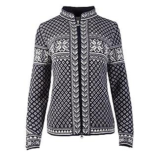 Dale of Norway Women's Sunniva Sweater, White/Navy, Medium