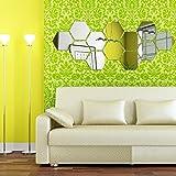 Soledi-12-piezas-adhesivas-acrlicas-3D-efecto-espejo-diseo-hexagonal-para-decorar-la-pared