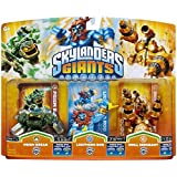 figurine Skylanders : Giants - Drill sergeant + Prism break + Lightning rod Compatible avec Trap Team