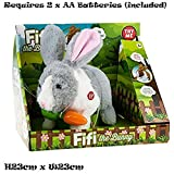 Fifi The Bunny Electronic Pet Rabbit - Grey by Fifi the Bunny Kids Toy
