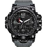 Bainuojia Digital Uhren für Kinder Jungen - Wasserdicht Outdoor Sports Digitaluhren Analog Armbanduhr mit Wecker/Timer/LED-Licht, Elektronische Stoßfest Handgelenk Uhr für Jugendliche Kinderuhren
