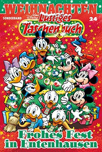 Lustiges Taschenbuch Weihnachten 24: Frohes Fest in Entenhausen (Disney Fest)