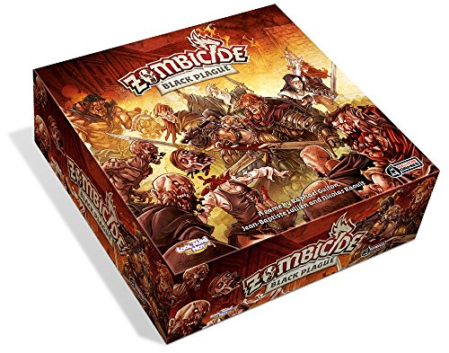 Cool Mini or Not GUGGUF001 - Zombicide Black Plague Brettspiel, Englisch - Black Plaque