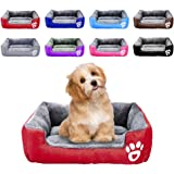 BCOO Dog bed Cat bed Pet bed Super soft pet sofa bed, soft wool fleece PP cotton made into a pet bed, suitable for small…