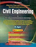 Civil Engineering: Objective Type and Conventional Questions and Answers